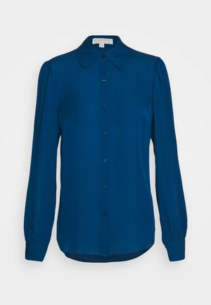 Button-down blouse - river blue