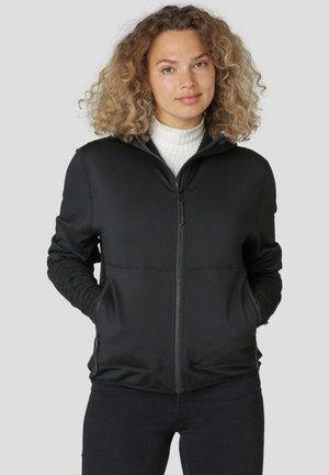 ZAAN - Sweater met rits - schwarz
