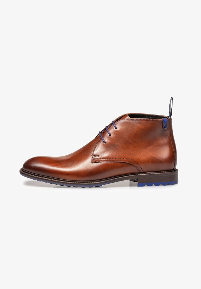 Veterboots - darkcognac