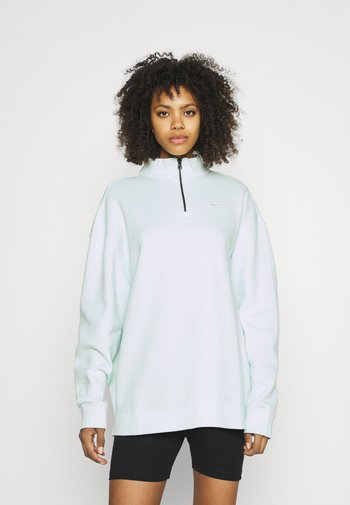 TREND - Sweatshirt - barely green/white