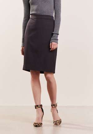 SKIRT BISTRETCH - Pencil skirt - black