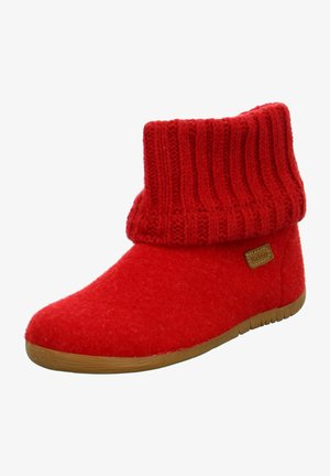 Ankle boot - rosso