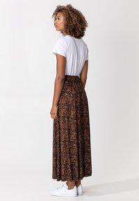 Indiska - OLIVARA - A-snit nederdel/ A-formede nederdele - multi - 2