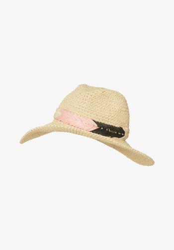 BUTTERFLY - Hat - coconut