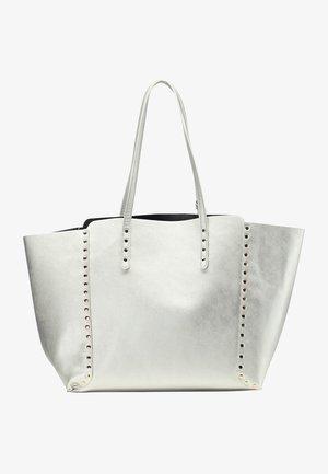 Shopping bag - silber metallic