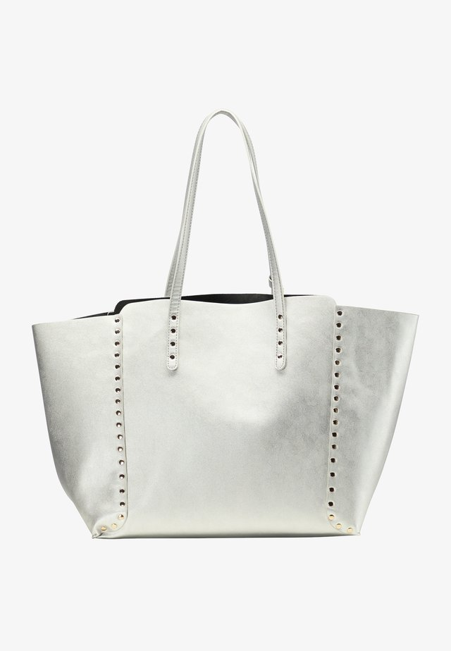 Shopping bag - silber metallic