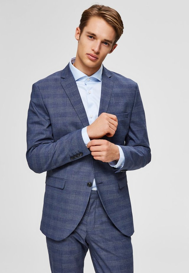 SLIM FIT - Veste de costume - dark blue