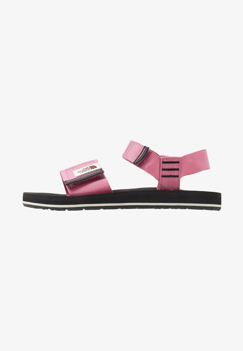 The North Face - W SKEENA SANDAL - Walking sandals - heather rose/asphalt grey