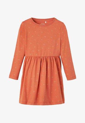 Jersey dress - etruscan red