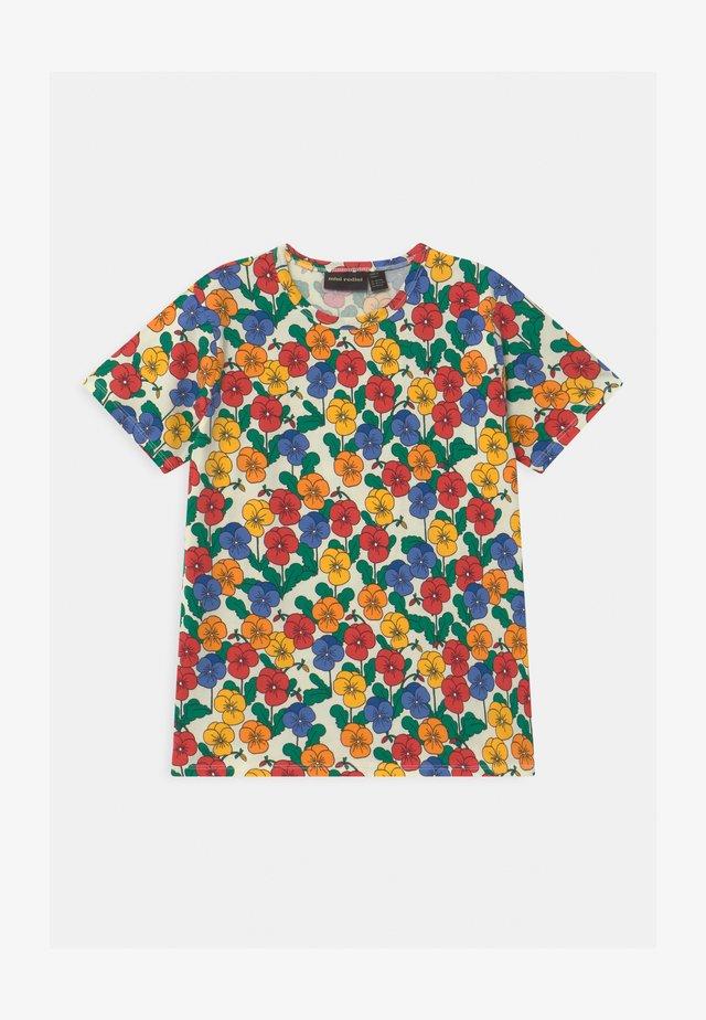 VIOLAS UNISEX - T-shirt imprimé - multi
