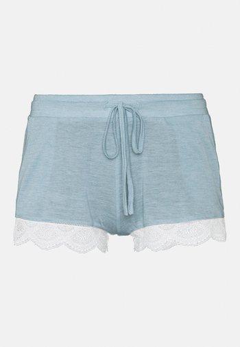 WARM DAY SHORT - Pyjama bottoms - blue-grey