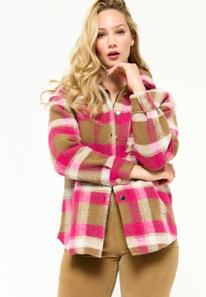 Hardshell jacket - fuchsia