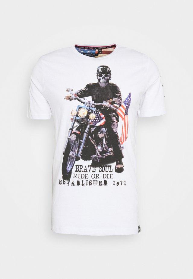 BRANDOX - T-shirts print - optic white