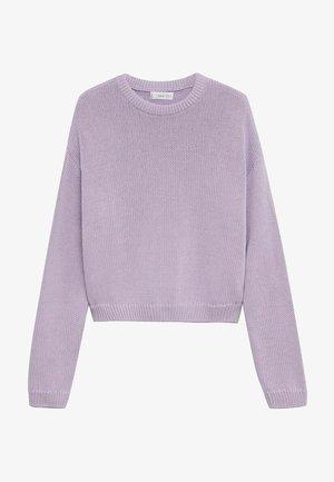 Trui - violet clair pastel
