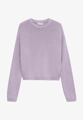 Jumper - violet clair pastel
