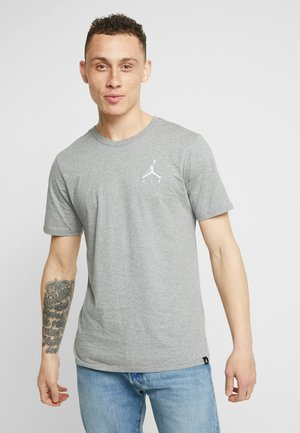 JUMPMAN AIR TEE - Basic T-shirt - carbon heather/white