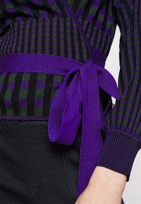 Diane von Furstenberg - EMILY WRAP - Neuletakki - purple/green - 5