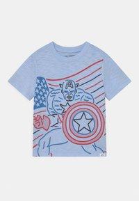 GAP - TODDLER BOY GRAPHIC - Print T-shirt - bicoastal blue - 0