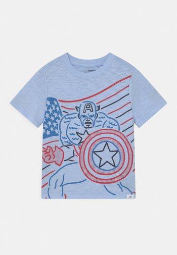 MARVEL HULK TODDLER BOY GRAPHIC - Print T-shirt - bicoastal blue