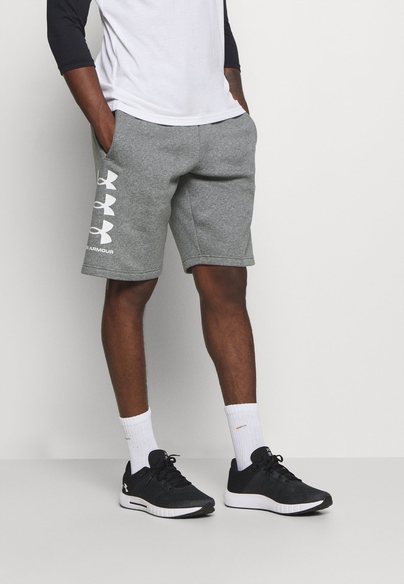 Under Armour - Sports shorts - pitch gray/light heather