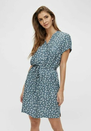 BIRDY DRESS - Blousejurk - blue mirage