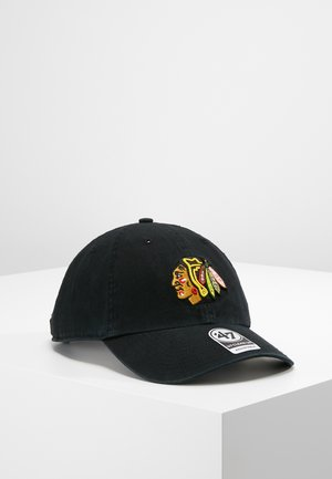 NHL CHICAGO BLACKHAWKS 47 CLEAN UP - Cap - black
