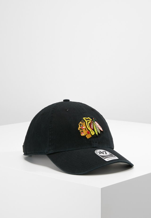 NHL CHICAGO BLACKHAWKS 47 CLEAN UP - Casquette - black