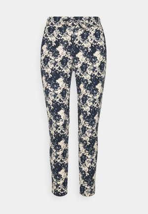 KATE PRINT - Trousers - total eclipse