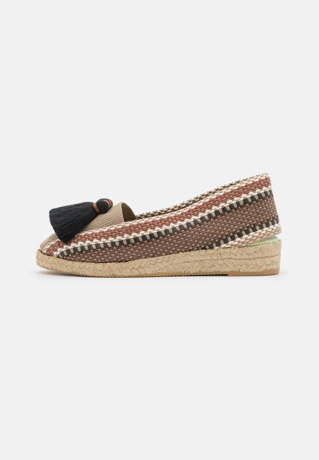 LOTO - Espadrillas - brown/beige