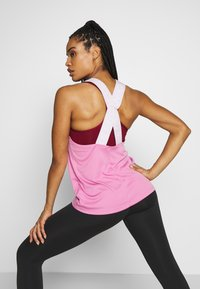 Nike Performance - DRY ELASTIKA TANK - Sportshirt - magic flamingo