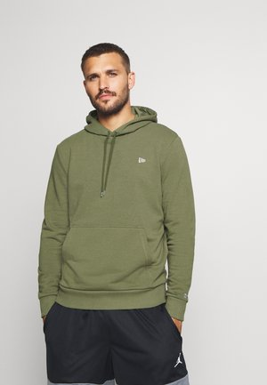 NEW ERA NEW ERAESSENTIAL FLAG HOODY - Sweat à capuche - olive