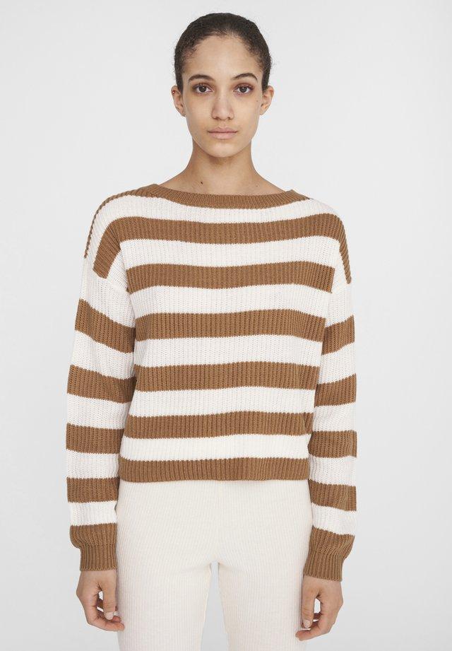 Jersey de punto - beige/ camel