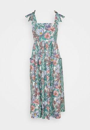 TIE SHOULDER BEACH DRESS - Maxikjoler - multi-coloured