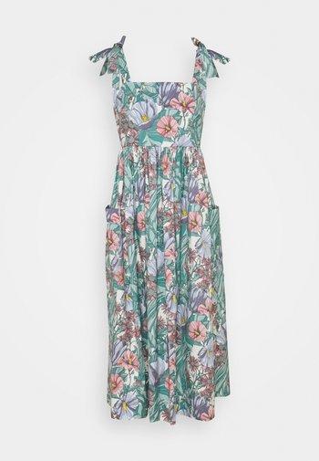TIE SHOULDER BEACH DRESS - Maxi dress - multi-coloured