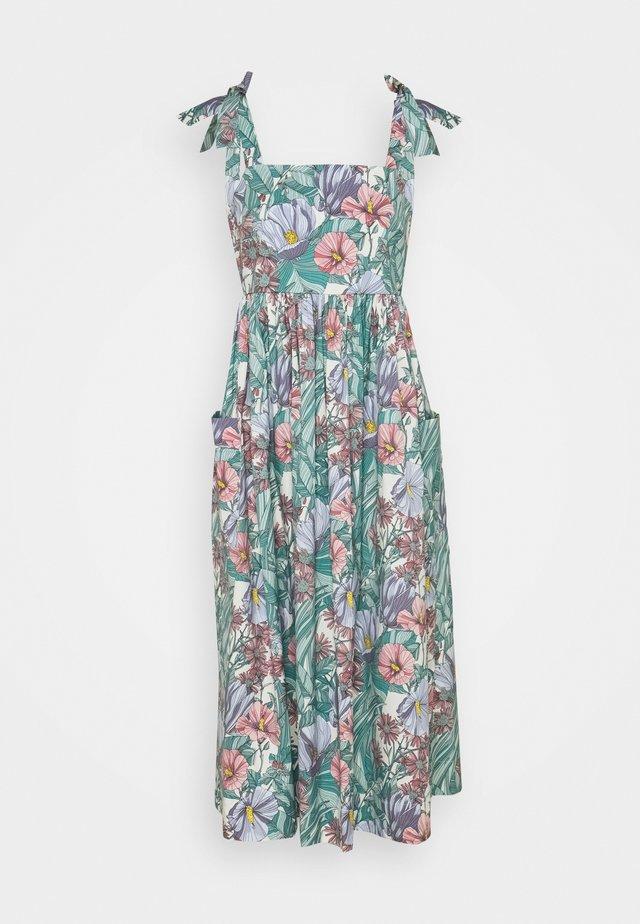 TIE SHOULDER BEACH DRESS - Maxi-jurk - multi-coloured