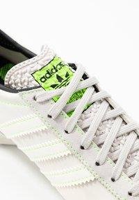 adidas Originals - SL 72  - Trainers - grey one/offwhite/signal green - 8