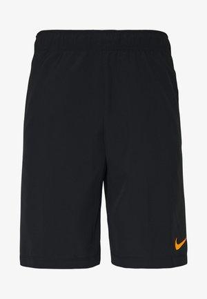 FLEX SHORT - Pantalón corto de deporte - black/black/hyper crimson