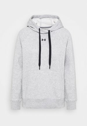 RIVAL HOODIE - Jersey con capucha - steel medium heather