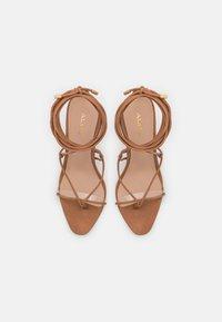 ALDO - GLAOSA - T-bar sandals - cognac - 5