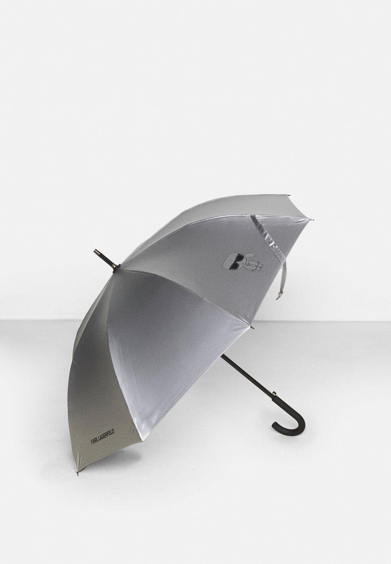 KARL LAGERFELD - IKONIK UMBRELLA - Parapluie - silver