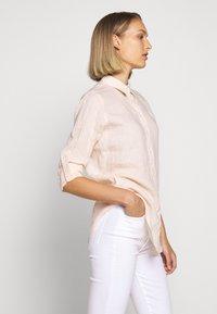 Lauren Ralph Lauren - TISSUE - Button-down blouse - pink/cream - 3