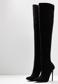 BEBO - MAUREEN - Botas de tacón - black - 4
