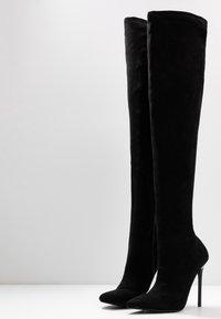 BEBO - MAUREEN - Boots med høye hæler - black - 4