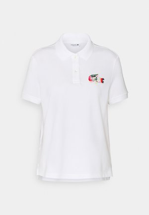 MIT BUNTEM CROC - Poloshirt - blanc