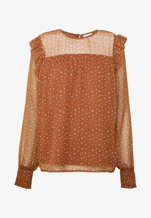 VIUTA - Bluser - copper brown