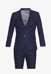 RUST TEXTURE SUIT SET - Suit - navy