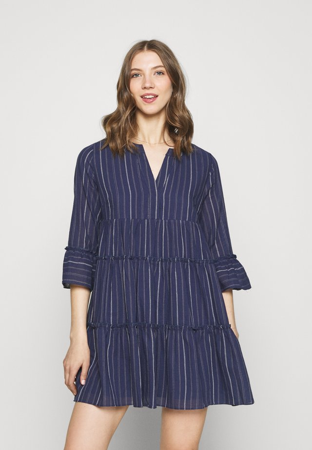 INDY BOHO DRESS - Kjole - blue
