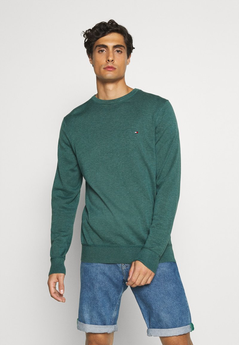 Tommy Hilfiger - CREW NECK - Pullover - green