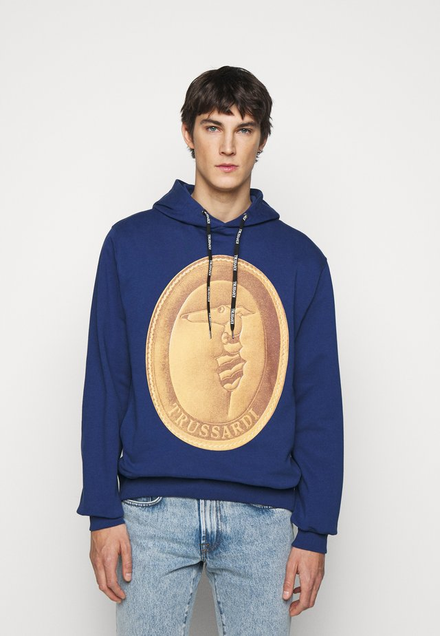 HOODIE - Jersey con capucha - navy blue