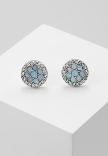 VINTAGE GLITZ - Earrings - silver-coloured